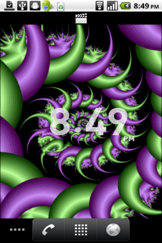 free sony ericsson xperia neo v mt11a live wallpaper water fractal app